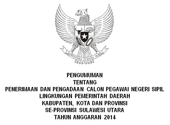 Seleksi CPNS Sulut