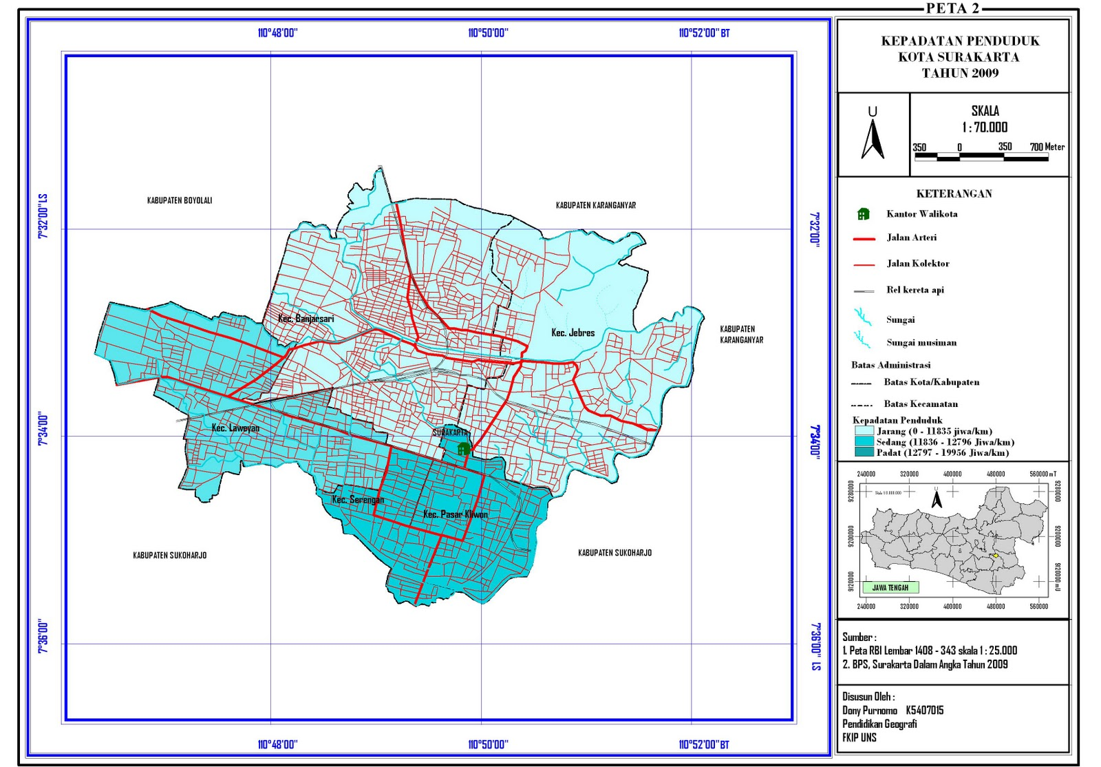 Memahami Marginal Information Peta Gambar Bali Komponennya