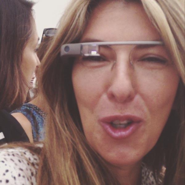 nina garcia gafas google