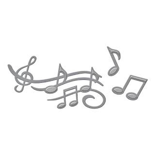 SBS2-208 Spellbinders D-Lites - Sing it Loud 1
