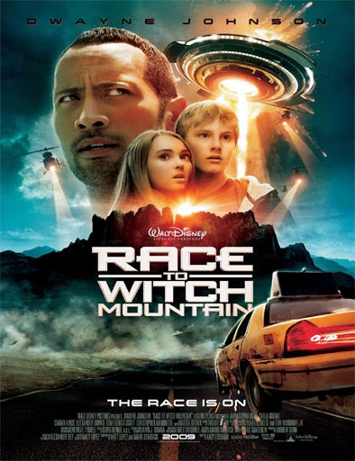 Ver La montaña embrujada (Race to Witch Mountain) (2009) Online
