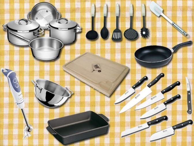 Mi cocina utensilios que no deben faltar en la cocina for Utensilios de cocina basicos