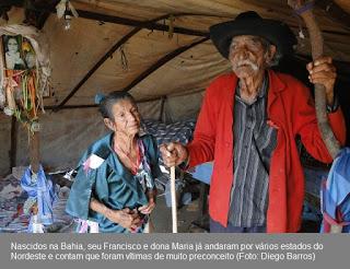 Ciganos resistem ao tempo, à pobreza, ao preconceito e preservam tradições no Sertão