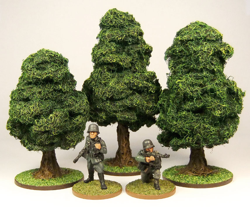 The Crooked Staff Blog: D I Y  Wargaming/RPG Trees