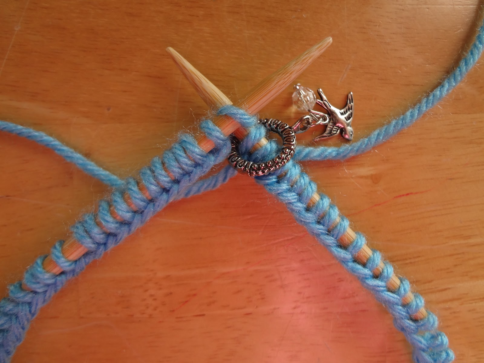 Knitting First Stitch Too Loose : Fiber Flux: How to Knit in the Round with Circular Needles