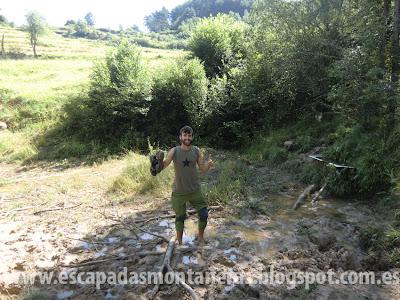 Camí dels 7 Gorgs, Torrent de la Cabana en Campdevanol