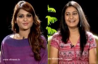 Singer Parnika in Kathi Karthika Show