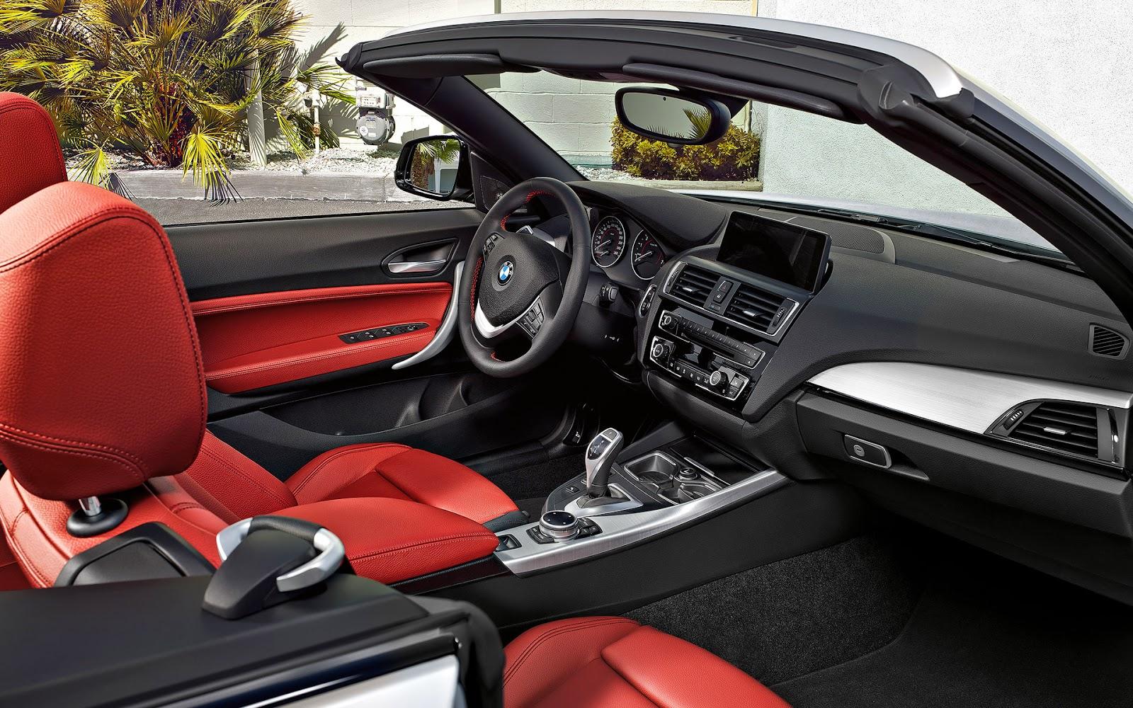 BMW Serie 2 Cabrio, interior
