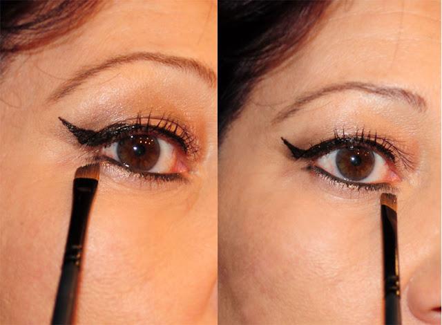Eyeliner-Wimpernkranz