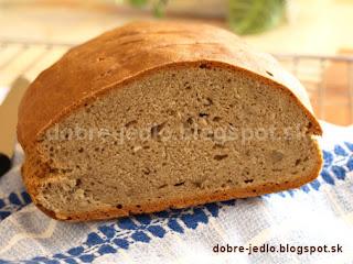 Nekvasený ražný chlieb - recepty