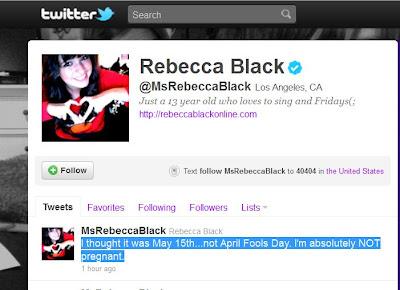Rebecca Black Pregnant