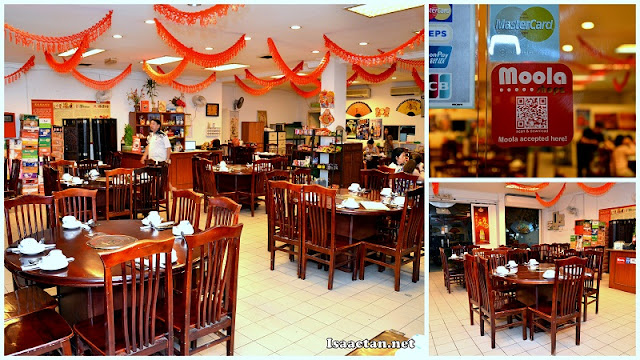 The cozy interior of Xiao Fei Yang Steamboat Restaurant