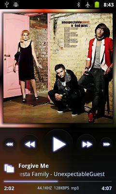 Pemutar Musik Android terbaru : PowerAMP Music Player Apk