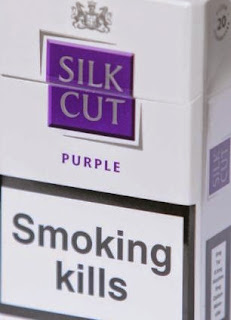 Silk Cut cigarettes size