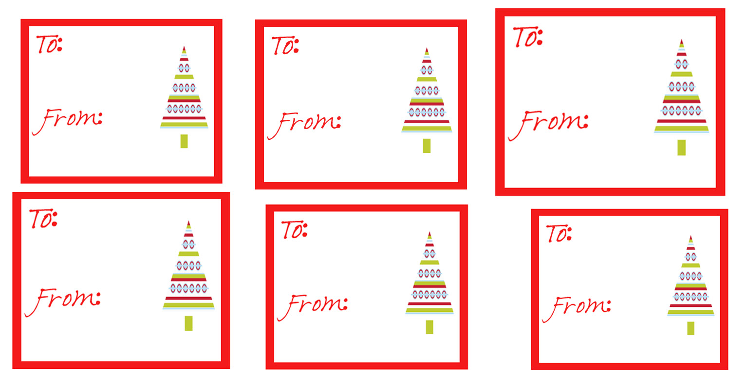 search results for printable blank christmas gift tags