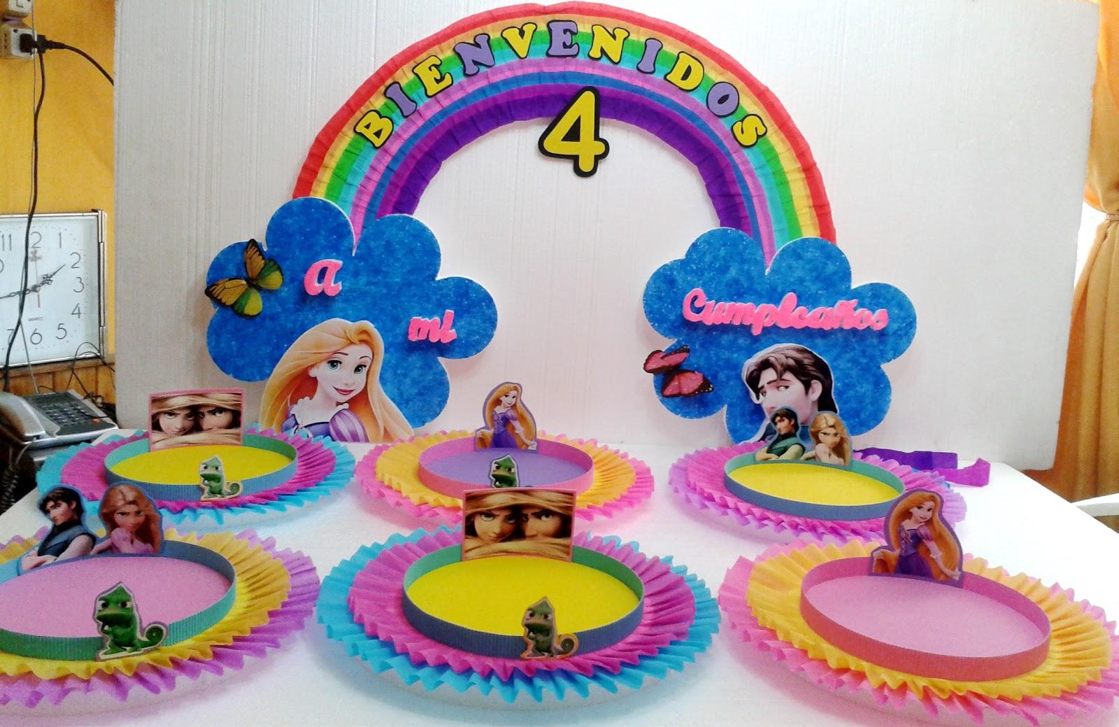 Decoracion De Rapunzel Para Fiestas Infantiles ~ Decoraci?n de rapunzel para fiestas infantiles  Imagui