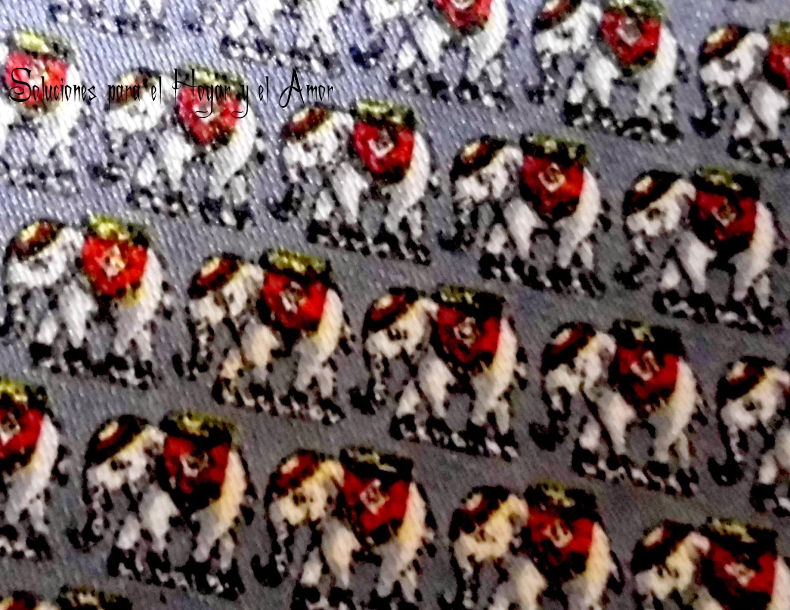 Textiles para corbatas