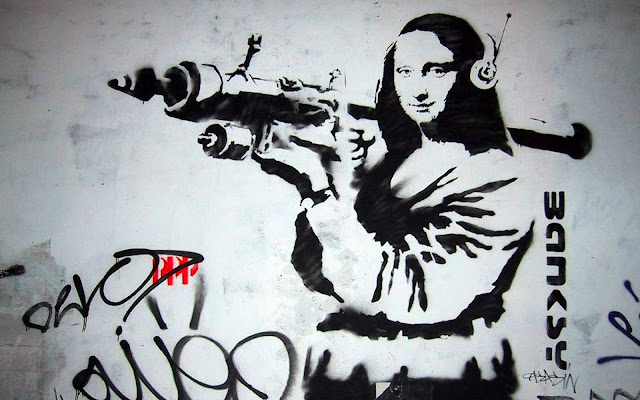 Banksy - adictamente.blogspot.com