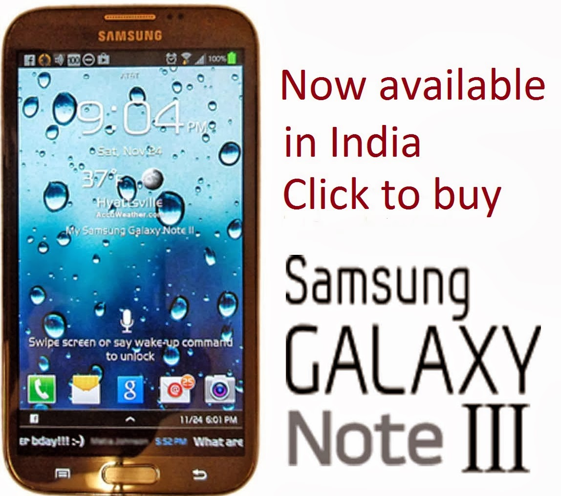 New Galaxy Note 3