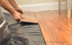 cách lắp đặt tháo dỡ sàn gỗ.