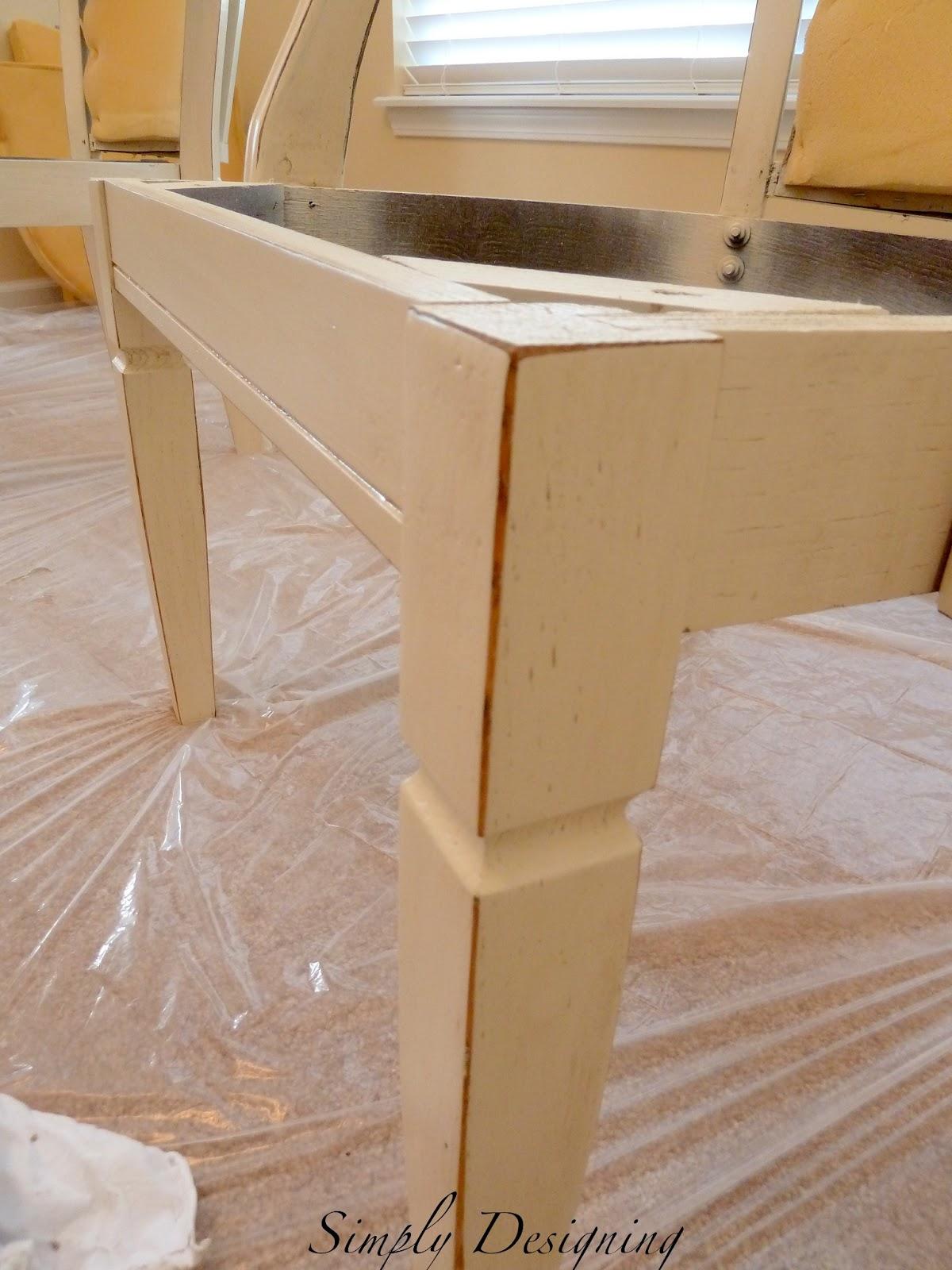 How to Refinish Furniture Glazing