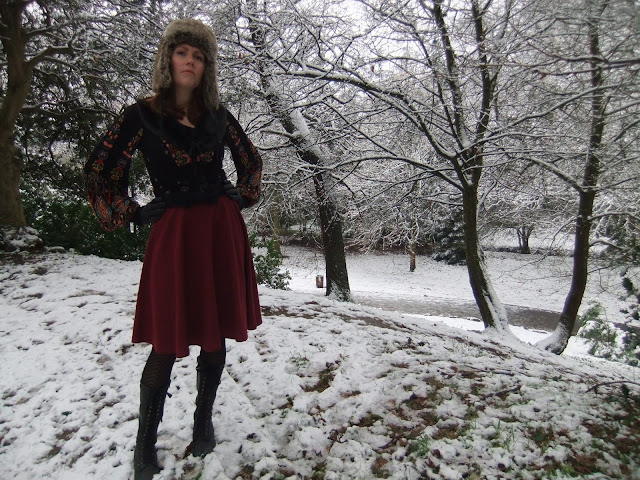 folk blogger outfit