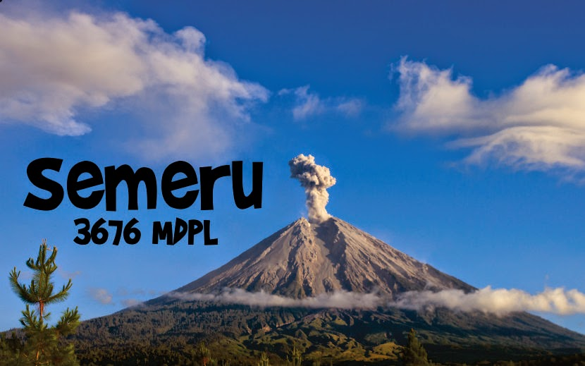 7 Gunung Tertinggi di Pulau Jawa