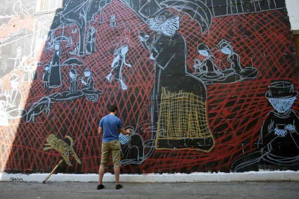 lafayette indiana mural street art
