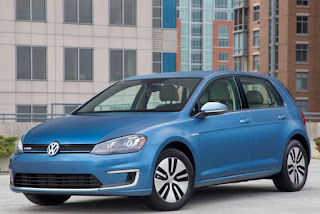2015 Mew Volkswagen eGolf Electric cars front view