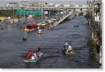 Intensas precipitaciones causan inundaciones en Bangladesh
