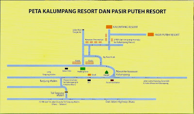 Kalumpang Resort Map