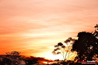 Beautiful Morning Sunrise in Yogyakarta - Indonesia