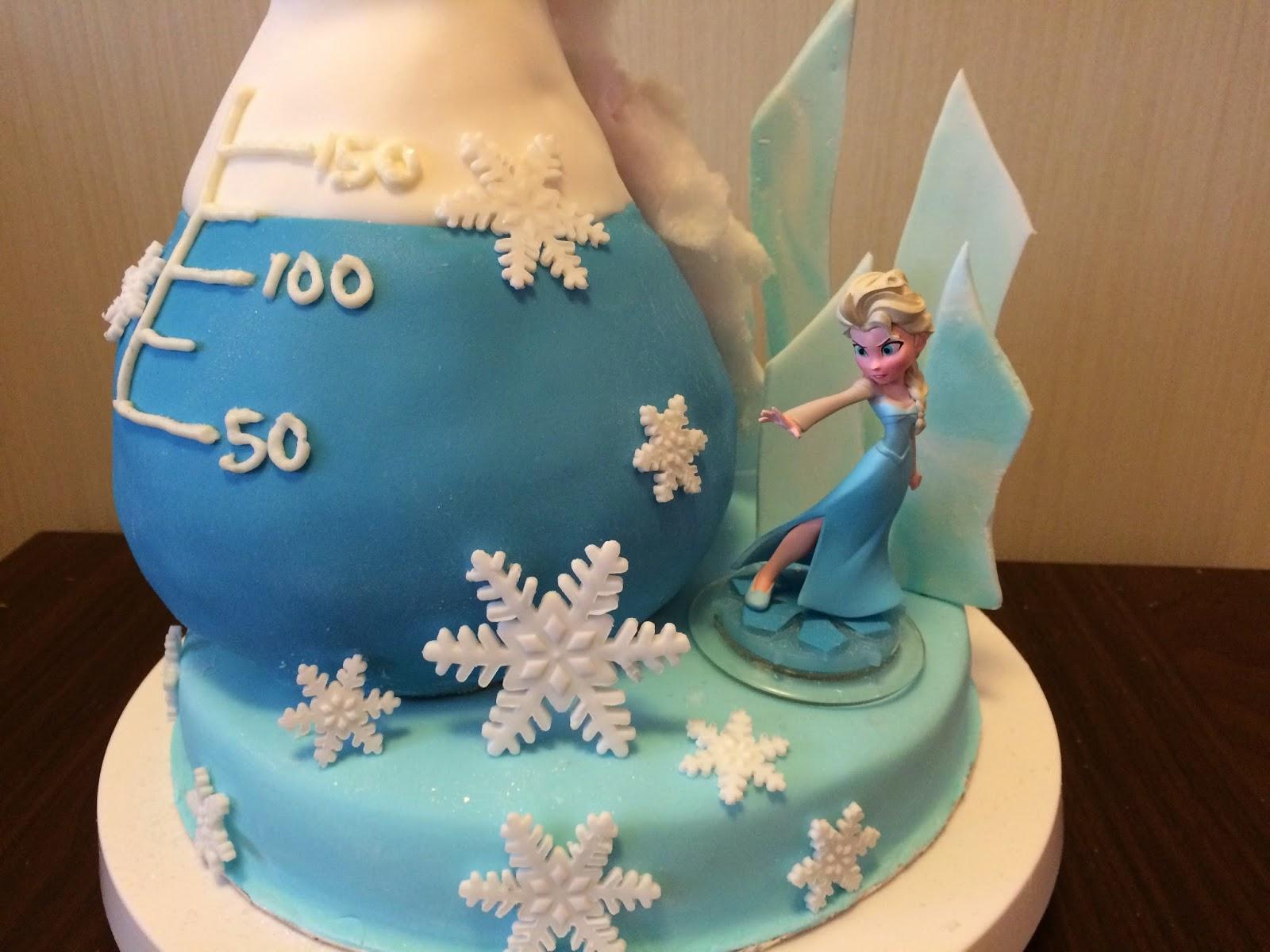Frozen Science Beaker Cake Crissas Cake Corner