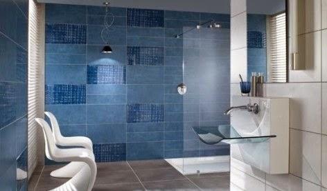 Fotos de ba os modernos fotos de ba os con ceramico - Banos azules decoracion ...