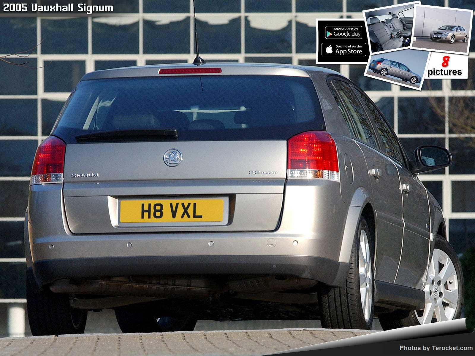 Hình ảnh xe ô tô Vauxhall Signum 2005 & nội ngoại thất