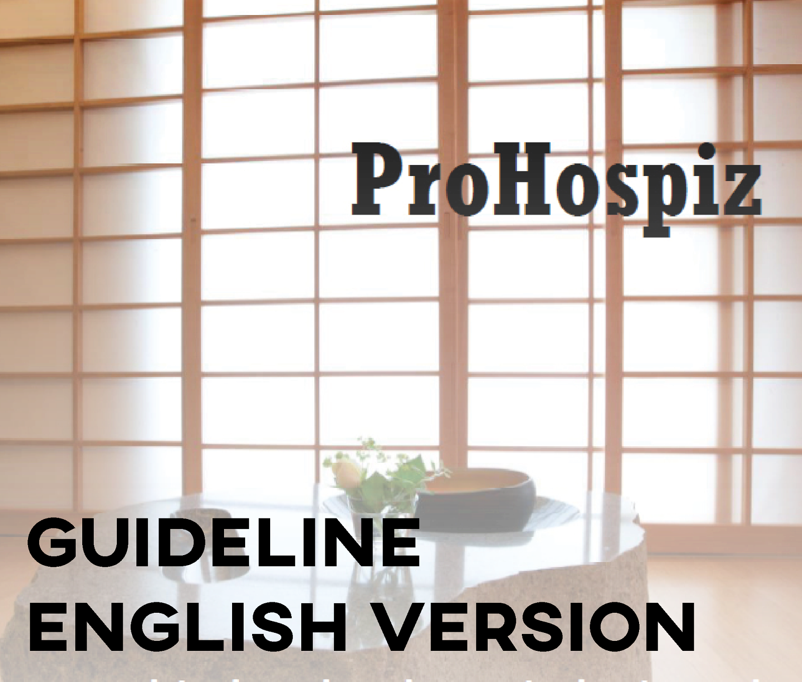Guideline in English