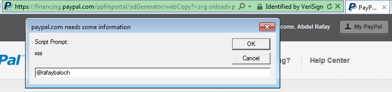 A tale of a dom based xss in paypal miscellaneous for Window onload not working in ie