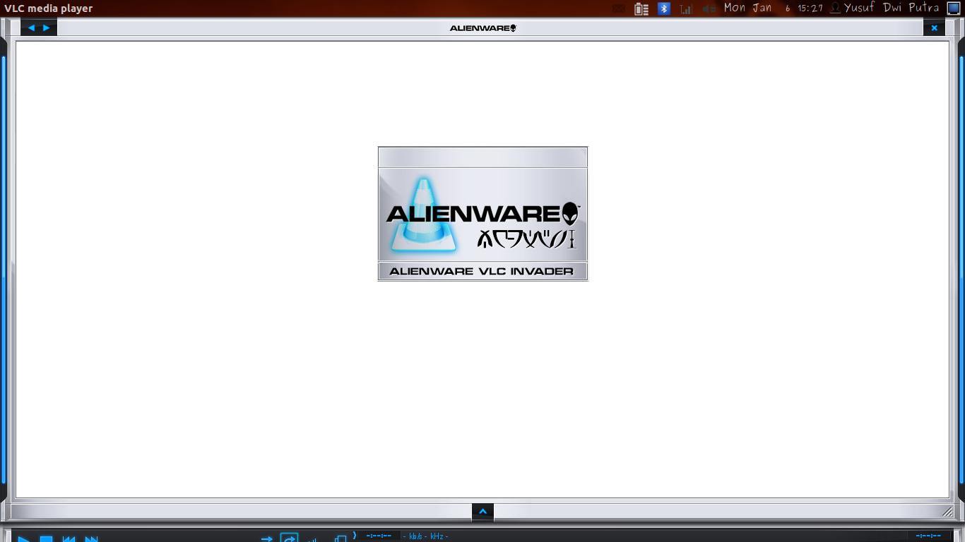 Skin Allienware VLC Ubuntu 12.04