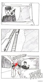 funny comic train five train-five