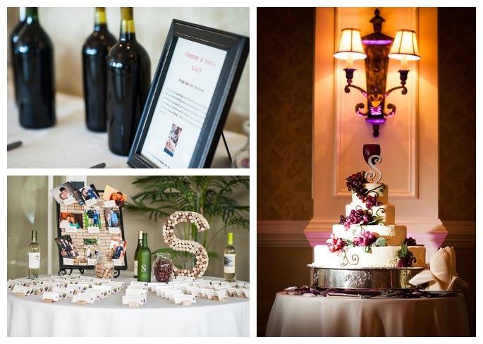 Wediquette And Parties Christine Joshs Wine Themed Wedding 61413
