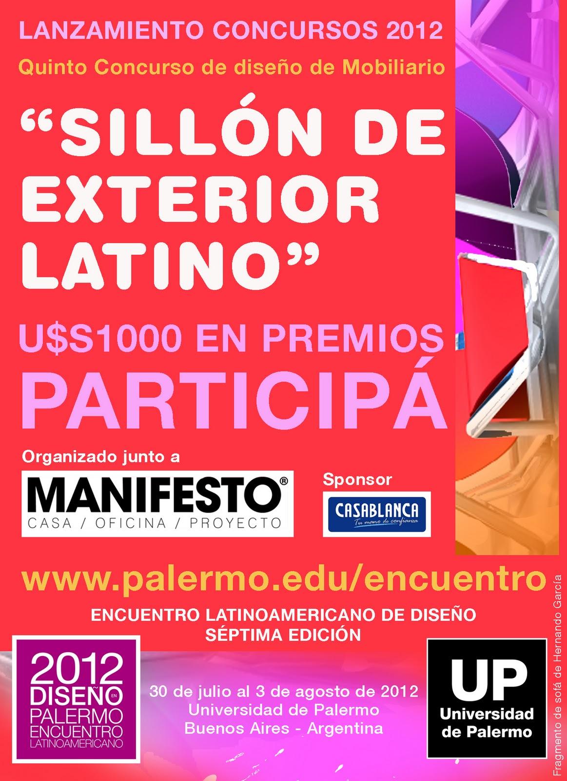 Geadi Concurso Sill N De Exterior Latino Universidad