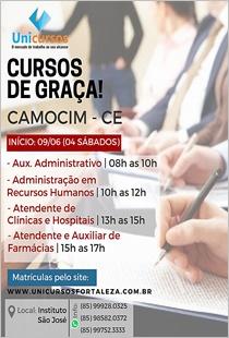 UNICURSOS - CURSOS GRATUITOS EM CAMOCIM