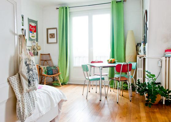 Decoração Apartamento Pequeno e Vintage Cores da Casa