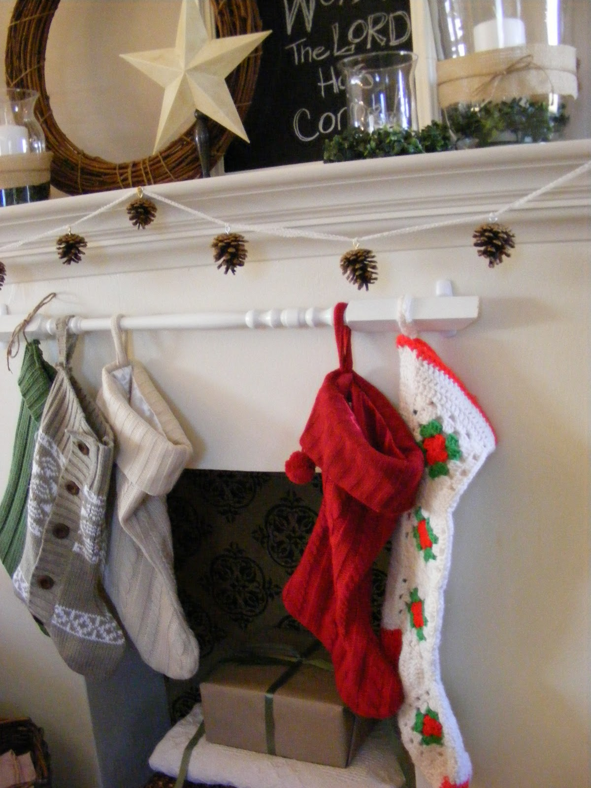 Christmas stockings made from sweaters the complete