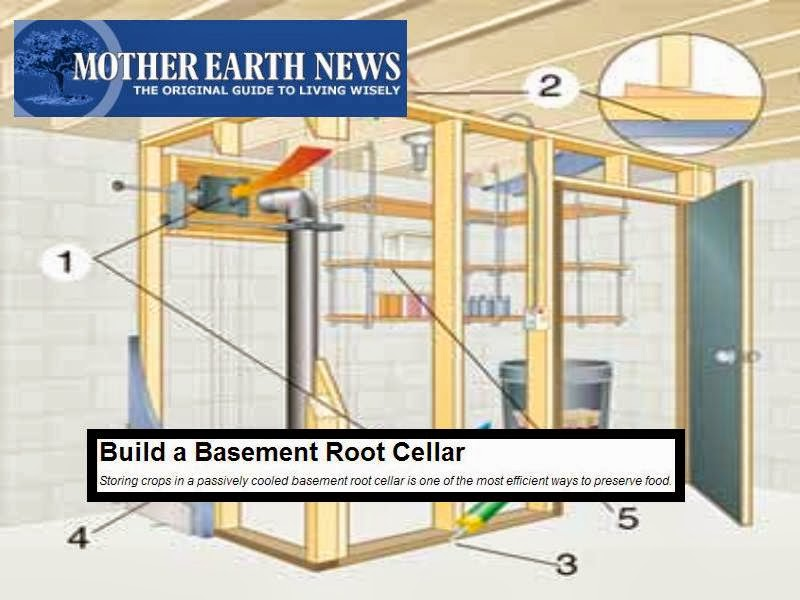 building a root cellar in your basement images