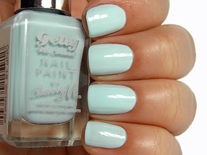 Barry M Gelly Nail Paint - Huckleberry