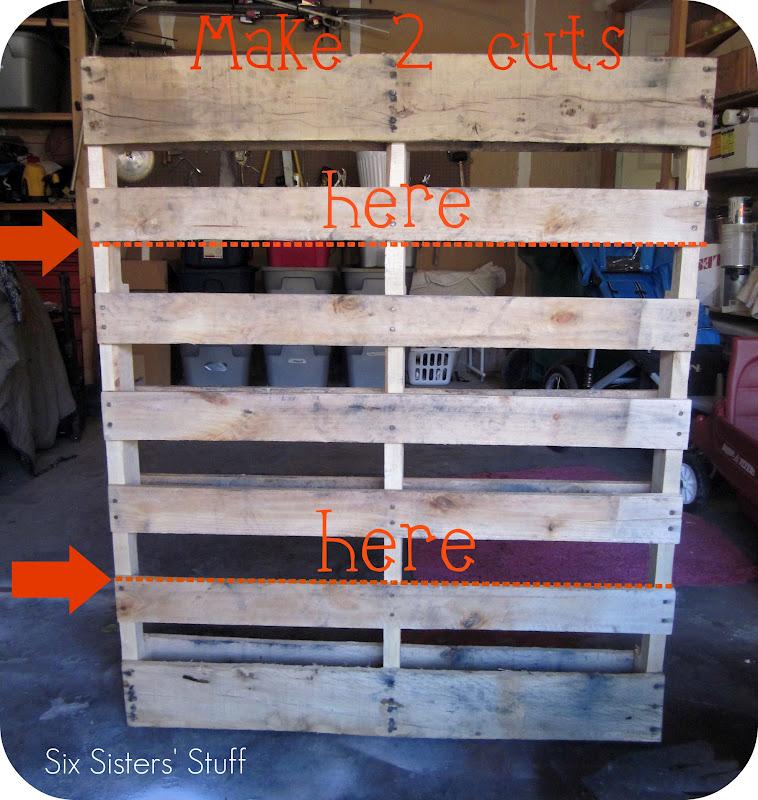 Pallet Bookshelves Tutorial