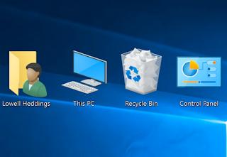 Mengatur Besar Kecil Dan Jarak Antar Icon Di Desktop
