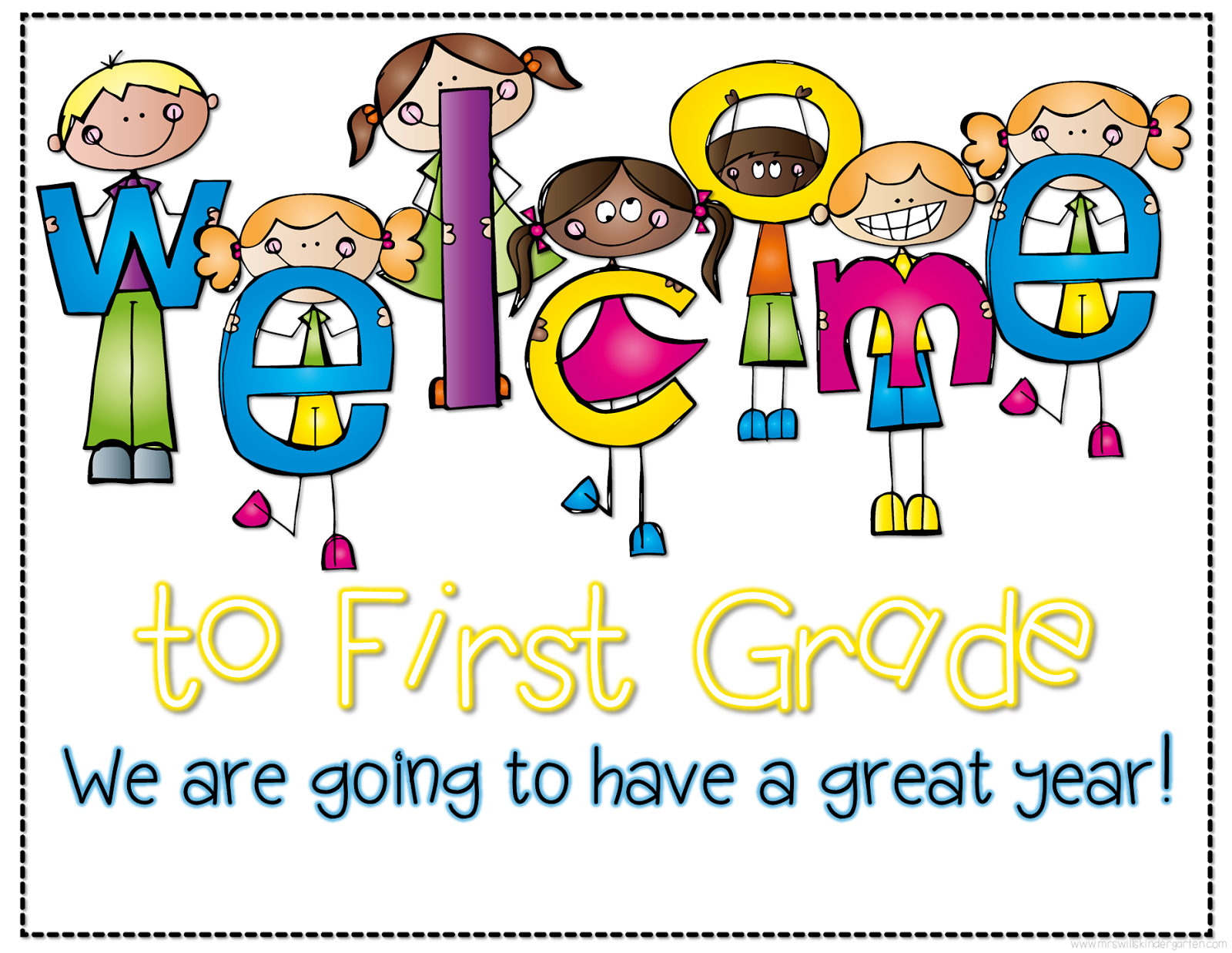 Image result for first grade welcome
