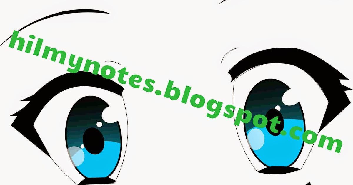 Hilmy Note's: CorelDraw : Membuat Mata Anime dengan Teknik